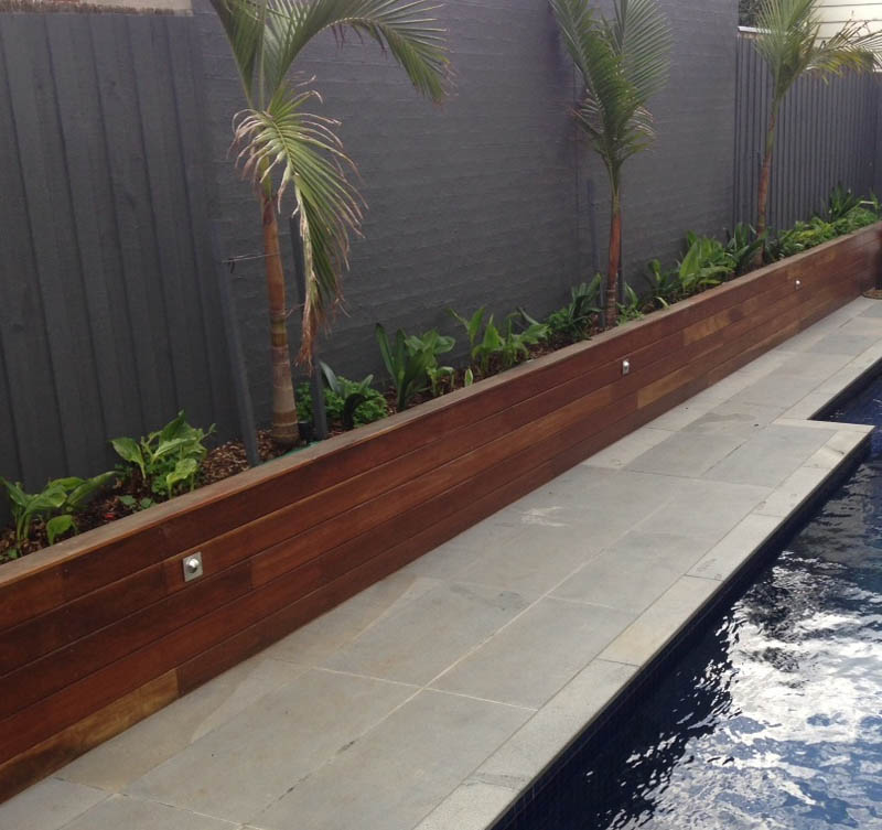 Retaining Walls Geelong Timber Precast Concrete Brick