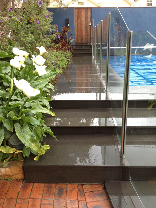 Outdoor Pavers Geelong : Geelong concrete stairs steps landscaping